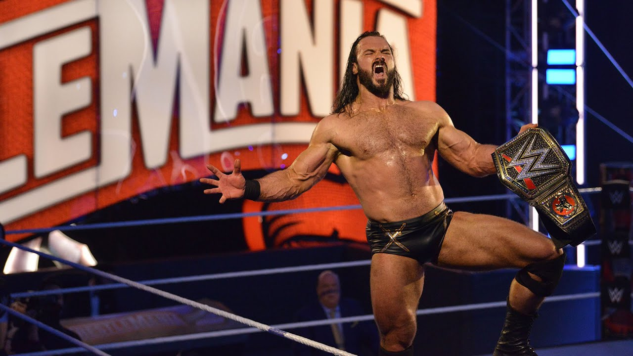 Relive WrestleMania 36 in 60 seconds