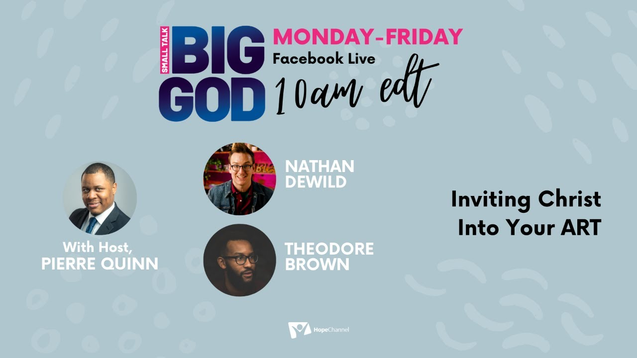 Inviting Christ Into Your ART [Small Talk, Big God Ep. 52]