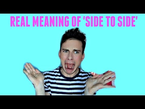 REAL MEANING OF 'Side to Side' by Ariana Grande and Nicki Minaj!!!
