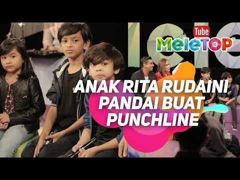 Telatah sweet anak Azad Jazmin, Eira Syazira, Rita Rudaini dalam Oh My Family I MeleTOP