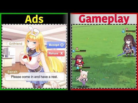 Girls X Battle 2 | Is It Like The Ads? | Gameplay