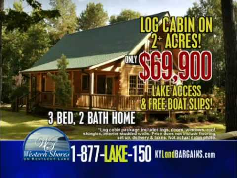 Western Shores Lake Log Cabin Sale Youtube