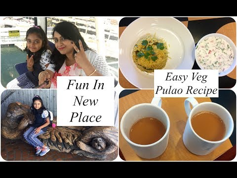 A Fun  Day In My Life In Seattle (Part 2) | Easy  Veg Pulao Recipe | Simple Living Wise Thinking