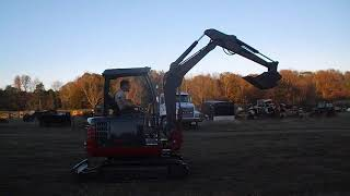 Takeuchi TB 125 Excavator, Stock number 1030