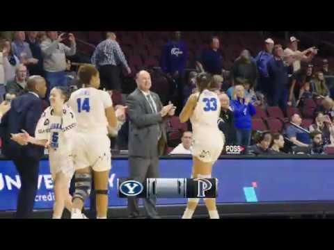 BYU Women's Basketball - BYU Vs Pepperdine - WCC Tournament March 11, 2019