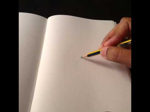Blurry Edge Between Pencilpaper Reality The Horror When - Reality with pencil and paper