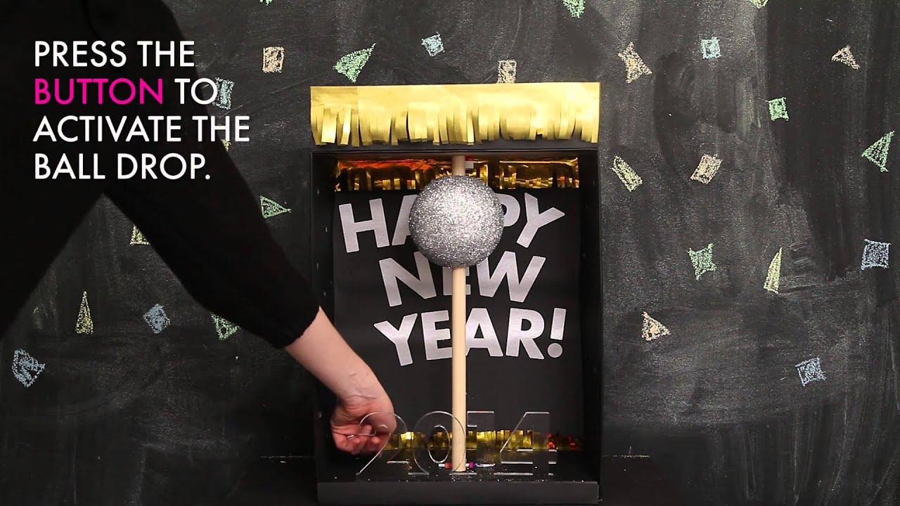Diy New Year S Ball Drop Youtube