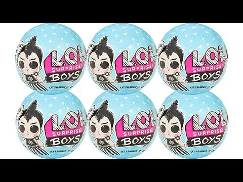LOL Surprise Boys Dolls Series 1 Blind Box Unboxing Toy Review