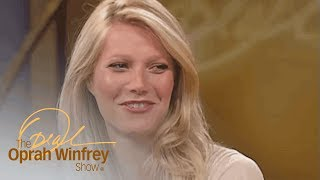 """During a 2004 """"oprah show"""" interview, famous new mom gwyneth paltrow finally answered the burning question on everyone's mind and revealed why she named her ..."""