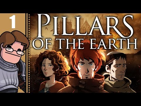 Let's Play Ken Follett's The Pillars of the Earth Part 1  Book 1: From the Ashes