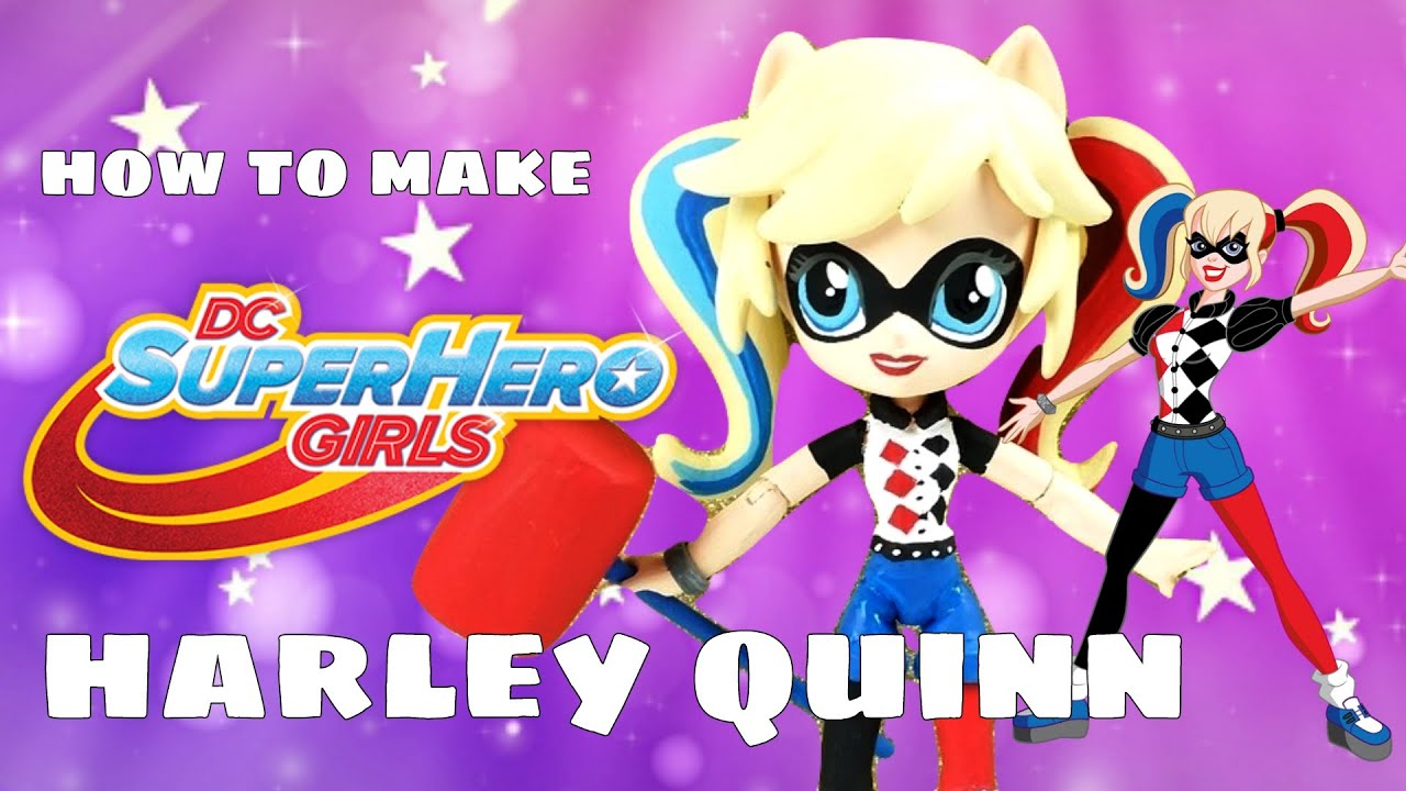 Toys That Start With A : Harley quinn dc super hero girls custom doll start with