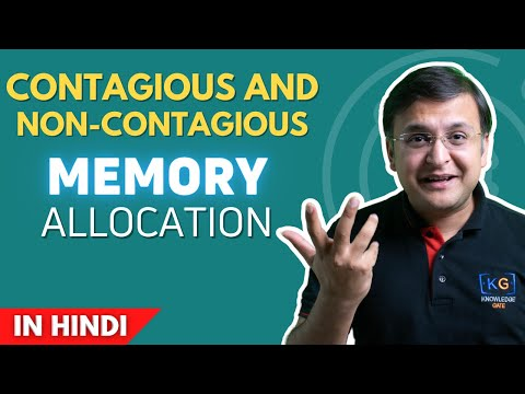 basics of contigious and non contigious | Memory management |OS | Operating System | part -16