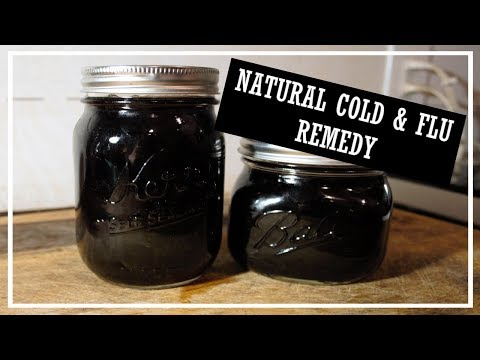 Erica - Elderberry Syrup to Help Avoid Colds and The Flu - MAGIC SYRUP!