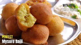 మైసూర్ బజ్జి / బోండా || Mysore Bajji / Mysore Bonda Recipe street food style in telugu | Vismai food