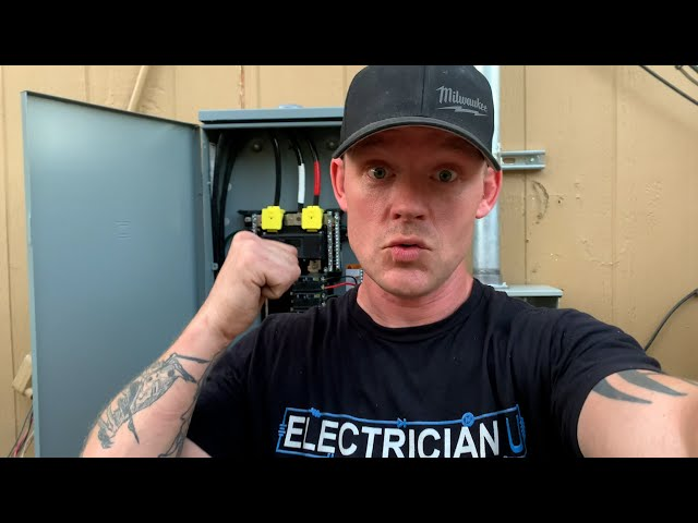 I Just Changed Out My Electrical Service