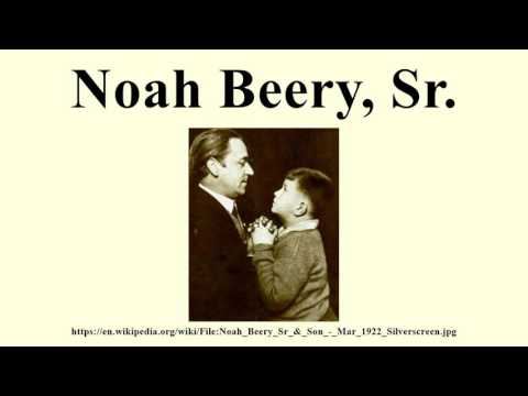 Noah Beery, Sr.