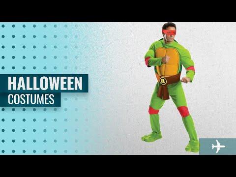 Nickelodeon Men Halloween Costumes [2018]: Rubie's Men's Teenage Mutant Ninja Turtles Deluxe Adult