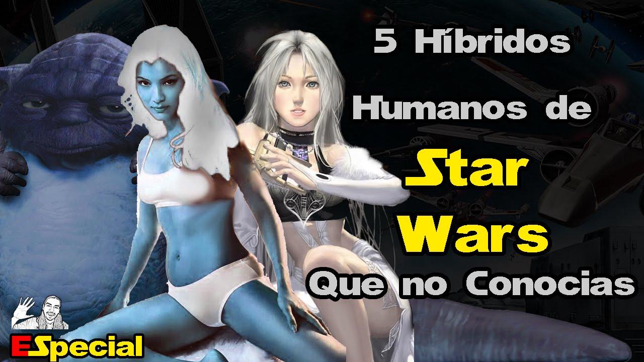 5 Híbridos de #StarWars que no Conocias