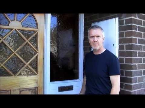 How To Install Composite Upvc Door And Frame Part 1