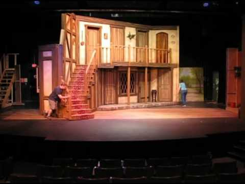 Quot Noises Off Quot Rotating Set Youtube