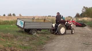 traktor sam i nietypowy kombajn