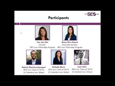 SEO Law Fellowship Overview Webinar Video