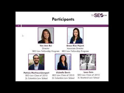 SEO Law Fellowship Overview Webinar Video