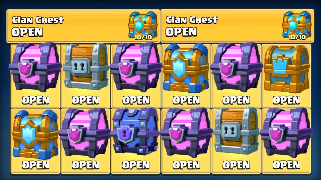 how to get a legendary using a magical chest