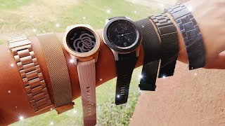New Samsung Galaxy Watch Bands Line Up