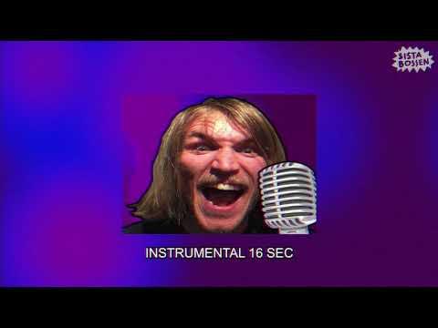 Sista Bossen - Jag vill ha mera (Karaoke) (Official Music Video)