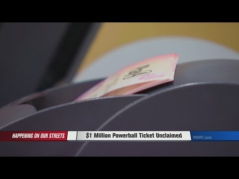 $1 Million Powerball Ticket Unclaimed