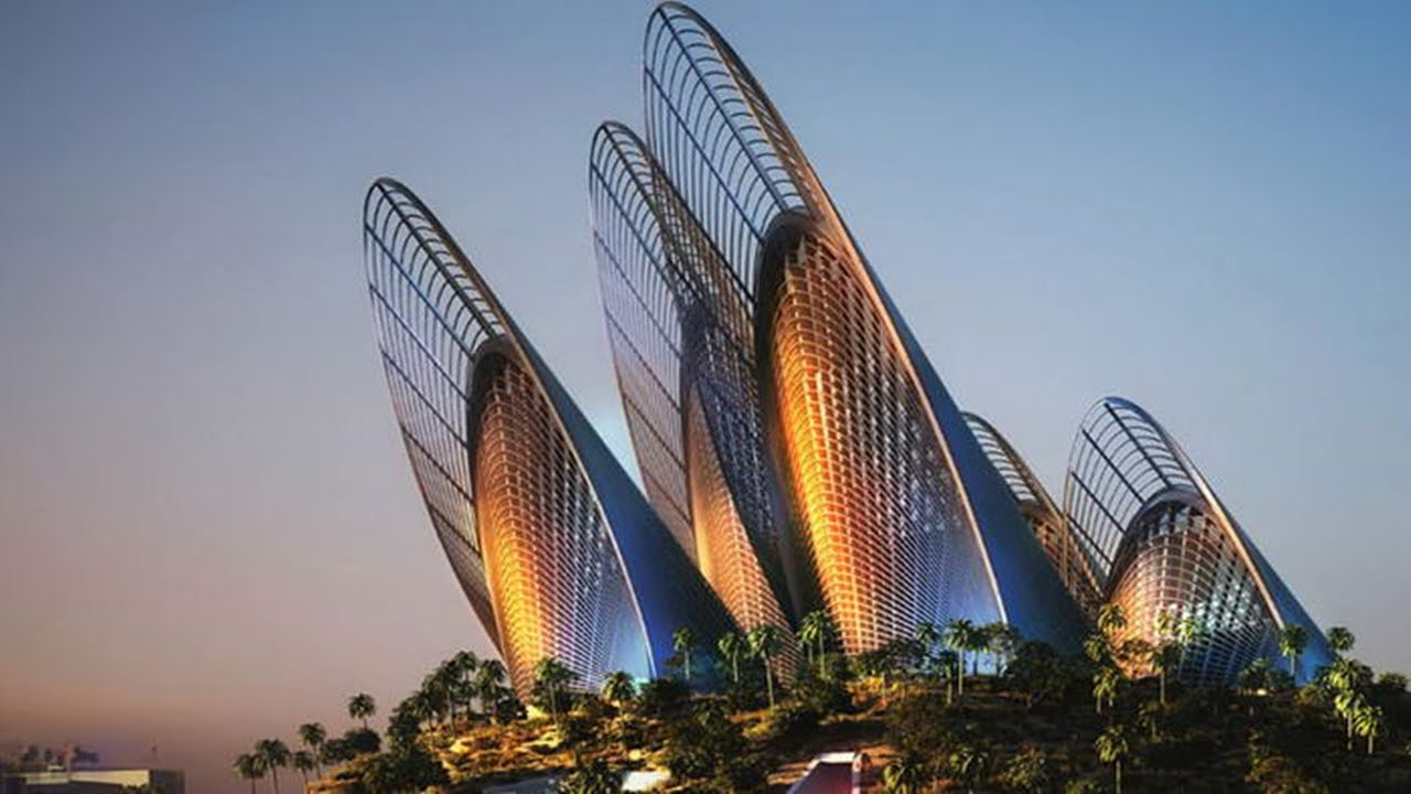Top 10 Most Futuristic Buildings In The World Awesome