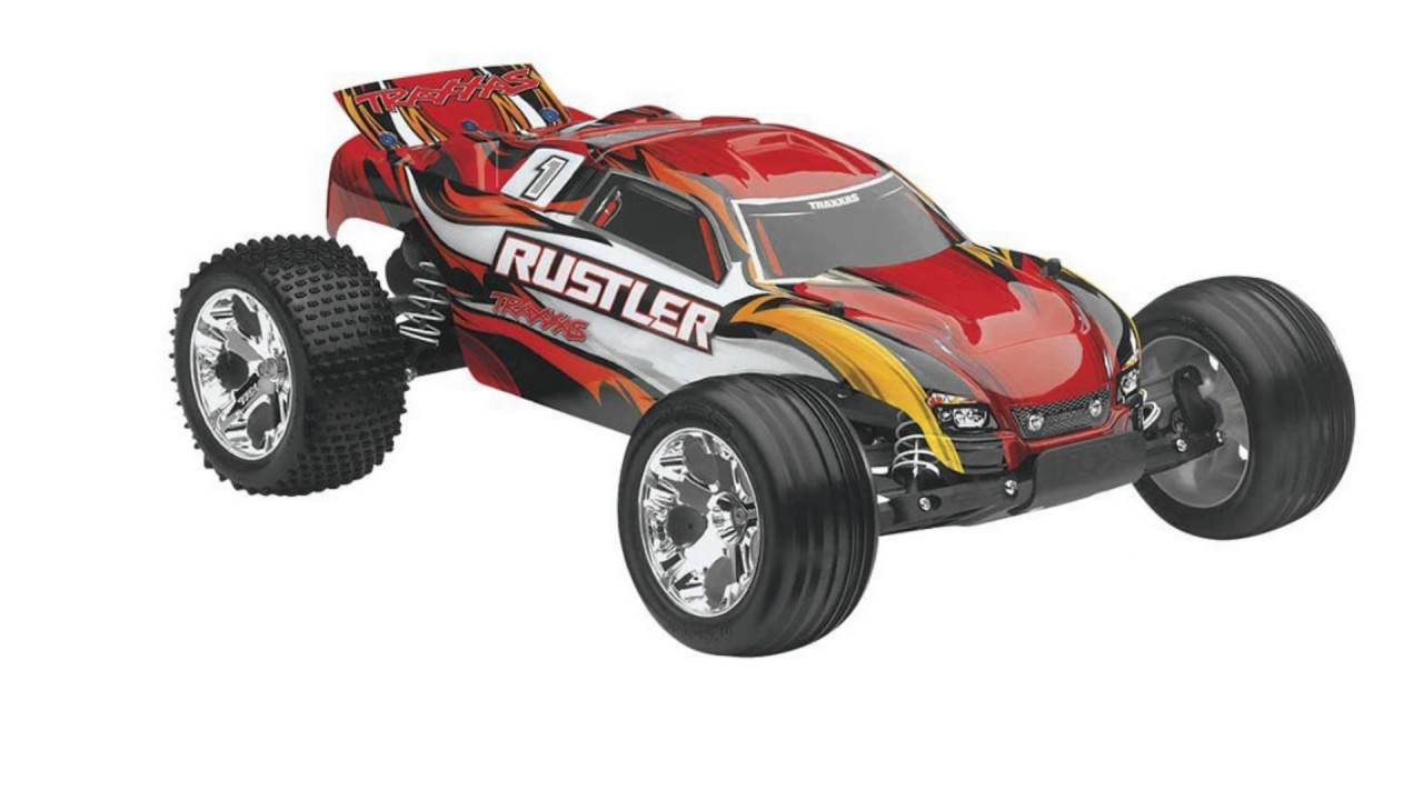 Image result for Traxxas RTR Rustler with Water Proof XL-5 RTR Remote Control Car