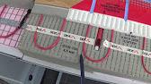 Как сделать электрический теплый пол ч.1 - YouTube