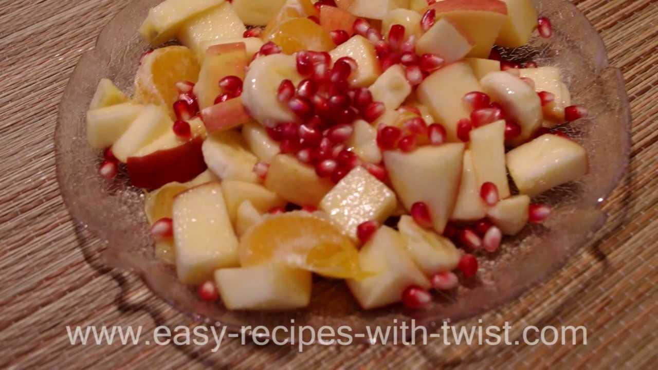 Easy fruit salad recipe youtube easy fruit salad recipe forumfinder Choice Image