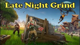 Fortnite: LATE NIGHT GRIND!!! - Week 2 Challenges // 41/100 SQUAD Wins // 1,638+ Kills // Tier 62