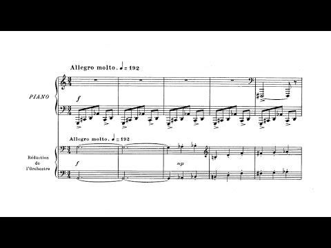 Albert Roussel - Piano Concerto Op. 36 (ALLHALLOWTIDE FINALE)