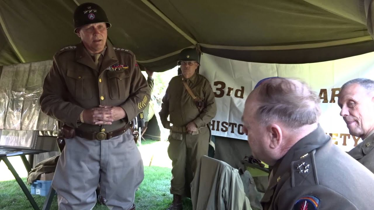 Patton's Third Army Living Historians - Media Archive (Video)