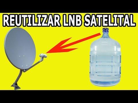 Como Reutilizar El Lnb o Lente de la antena de TV Cable Satelital