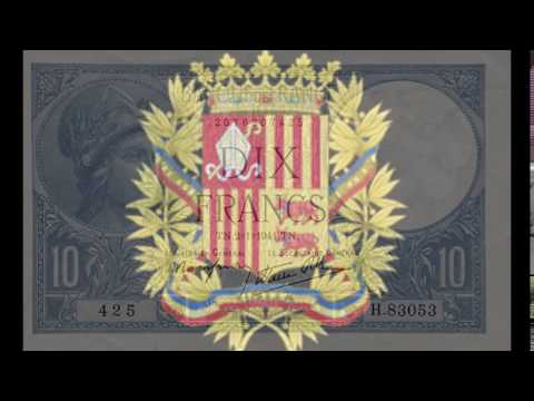 Currencies of the World: Principality of Andorra; Frech Franc (1st Series of 1941)