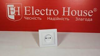 Обзор розетки без заземления серии Enzo ElectroHouse
