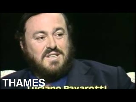Operatic Tenor - Luciano Pavarotti - Afternoon plus - interview