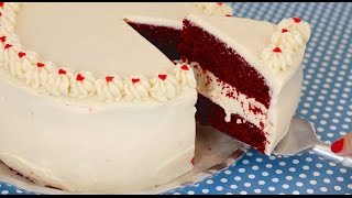 Red Velvet Cake Cheesecake - Gemma's Bigger Bolder Baking Ep. 5
