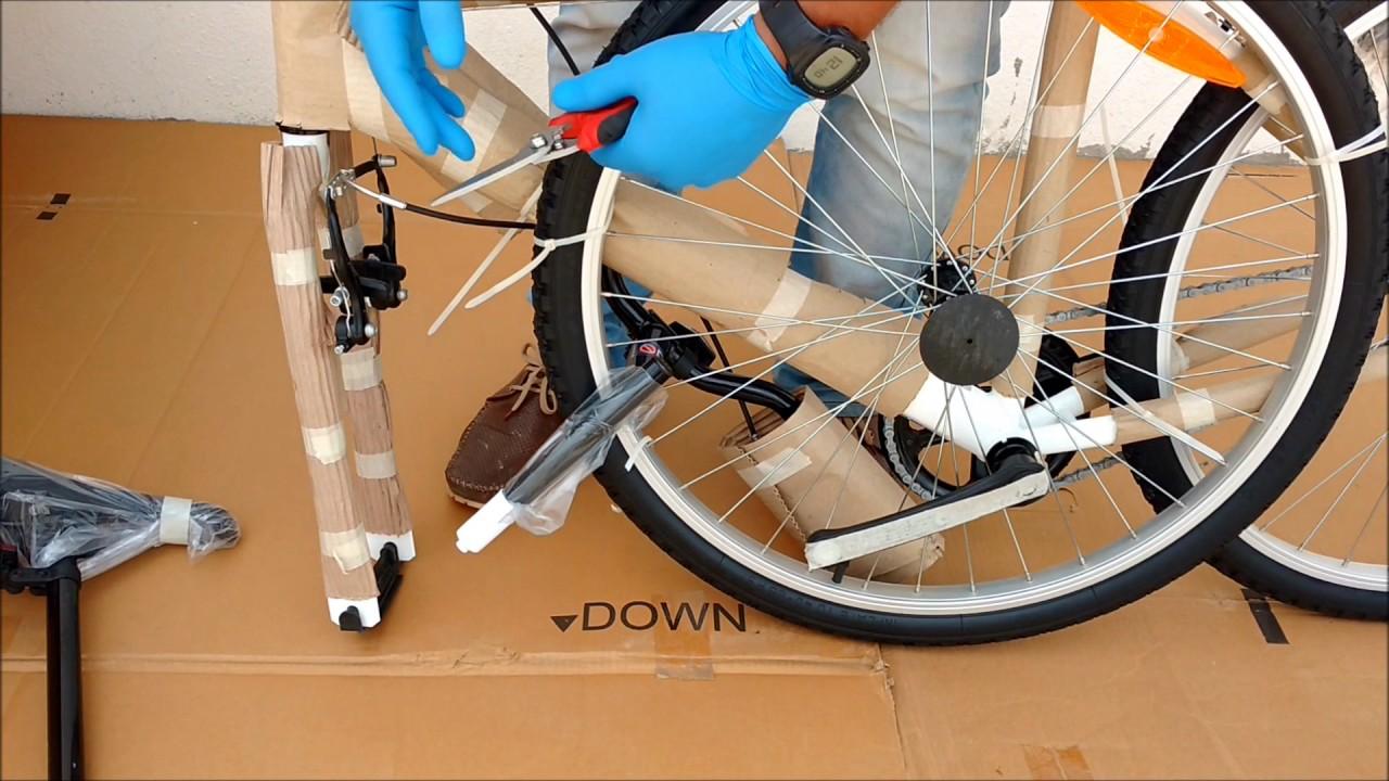 01e2e33108c How to assemble Decathlon Btwin My Bike. - YouTube