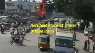 Bike Vs Scooty Hit & Run Accident | Caught By CCTV Cam |Live Accidents in India