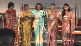Worship Song in Hindi, sung by Remnant Church Women
