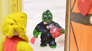 Green Baby is PREPARING FOR VALENTINE