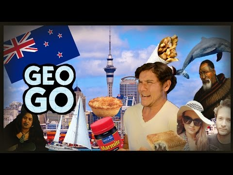 Geography GO! NEW ZEALAND (Auckland) Geography Now!