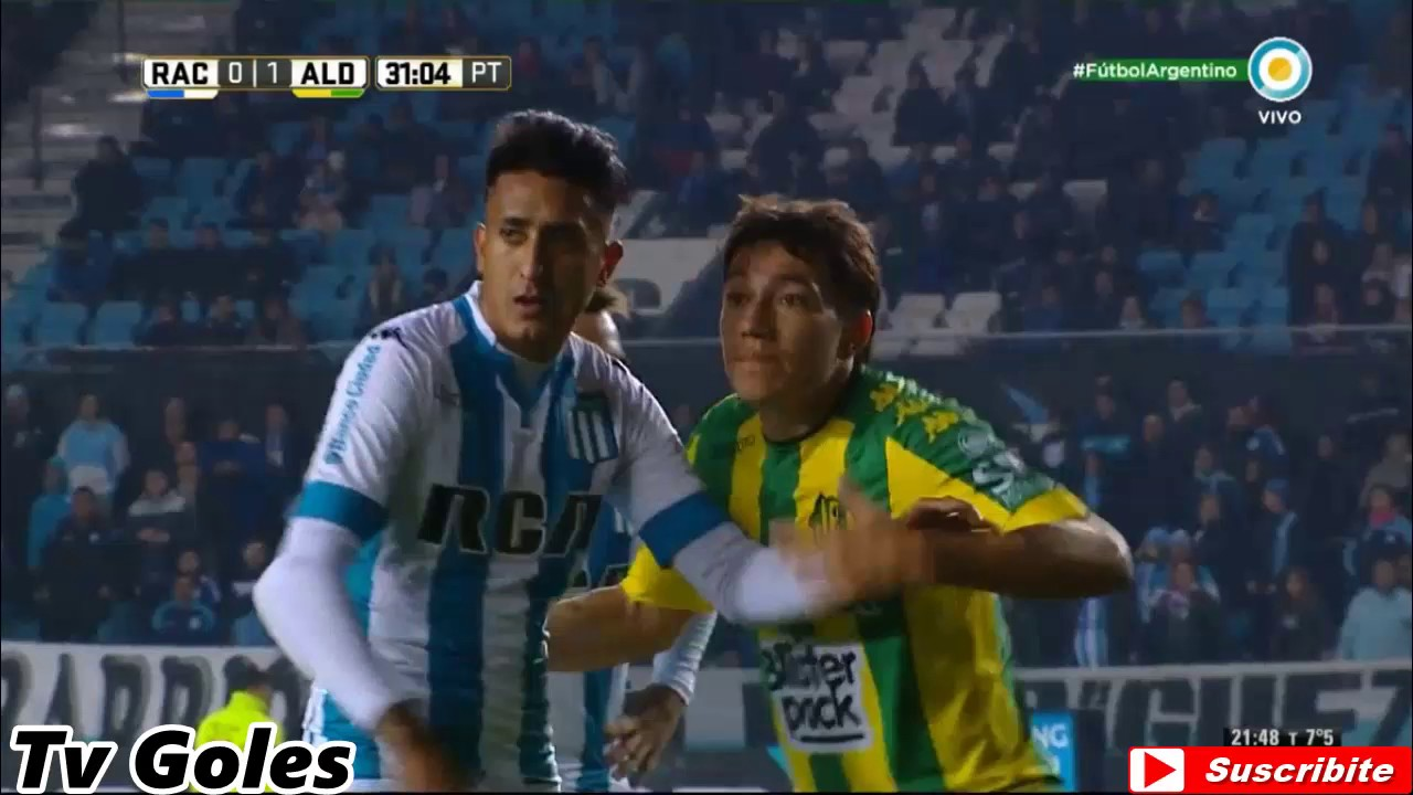 Racing Club 1-1 Aldosivi Mar del Plata