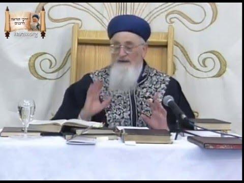 מהו הדבר שירים את קרנם של ישראל? הרב מרדכי אליהו